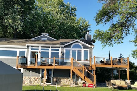 Lake Minnetonka lakeside with 270° Lake Views - Wayzata - Casa