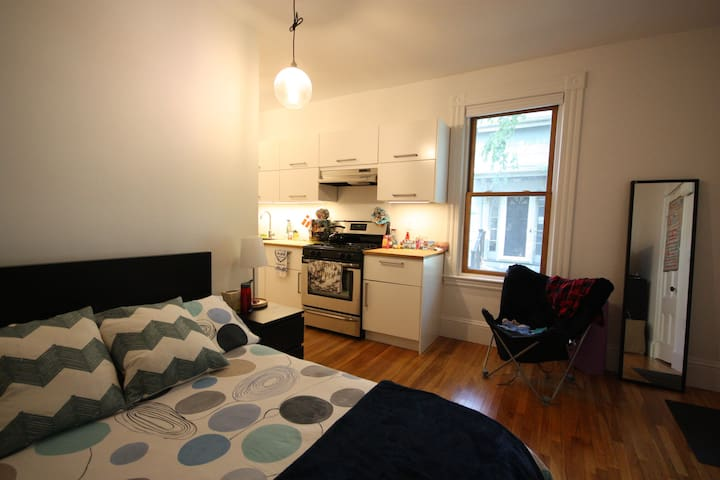 Cozy Studio in Cambridgeport