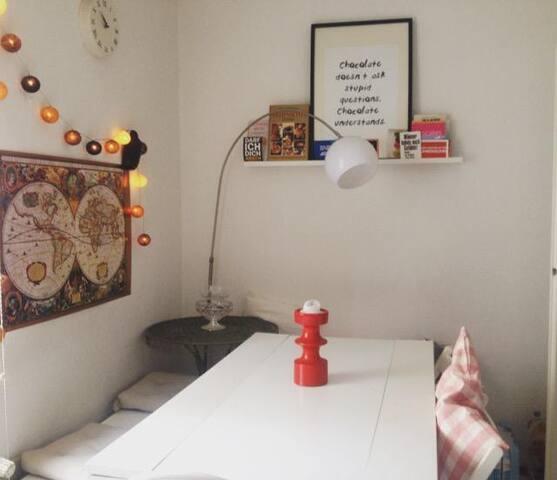 Gemütliches Zimmer in Kölner Zentrum - Colônia - Apartamento
