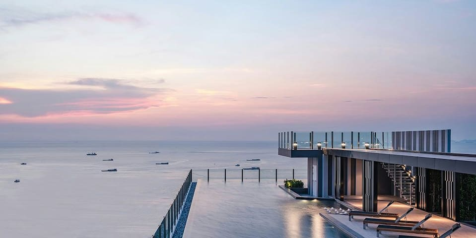 LUXURY seaview  300 m Pattaya beach - Pattaya - Altres