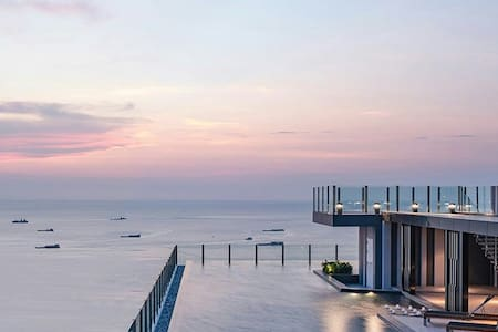 LUXURY seaview  300 m Pattaya beach - 芭達雅 - 其它