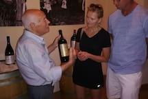 visita  alla  cantina di vino