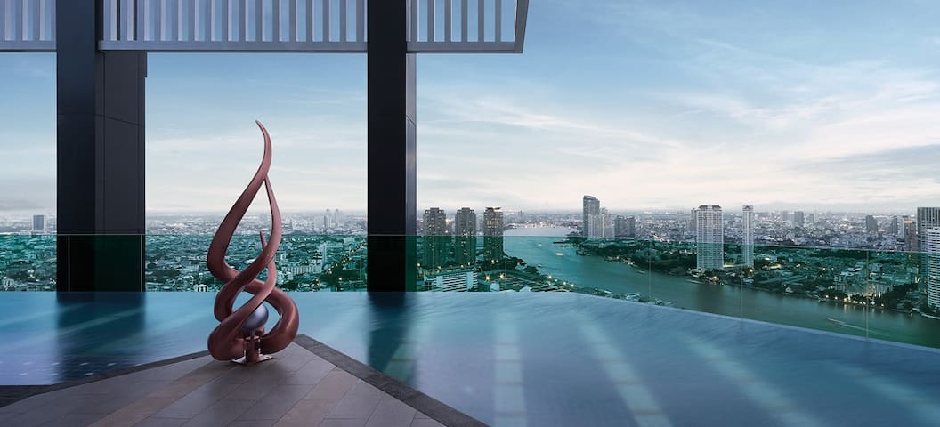 Luxury@Heart of Bangkok& River view - Yannawa Road  - Condominium