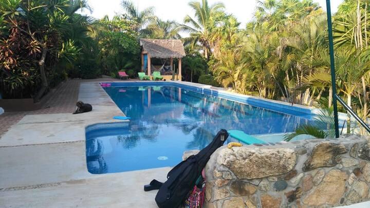 Terraza con vistas en La Punta