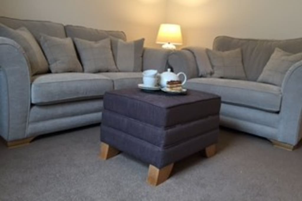 Sofas in Sitting Room