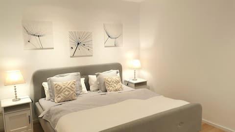 가까운 마인츠/현대적이고 아늑한 침실 2개 아파트