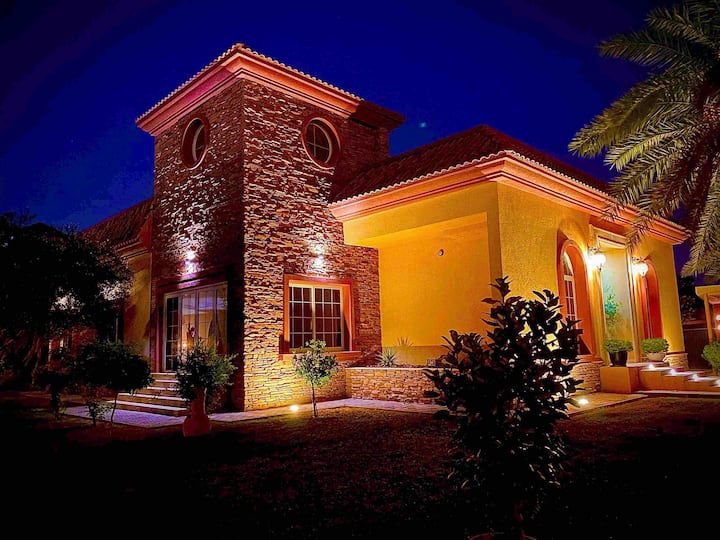 Castle of Arabia , stylish villa