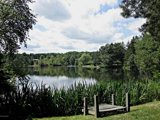 4 Bdrm Lake front home Pocono Mts - Mount Pocono