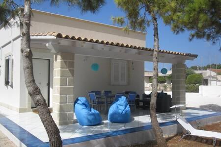 Villa trilocale con pineta