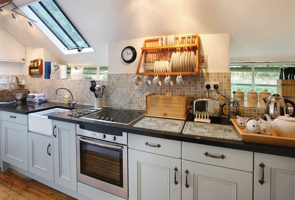 Ground floor: Galley kitchen