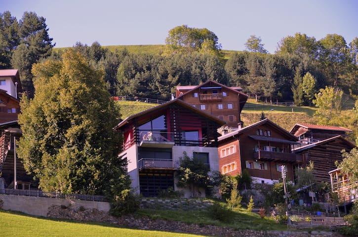 Casa Cotchna im Tal des Lichtes - Lumnezia - Leilighet