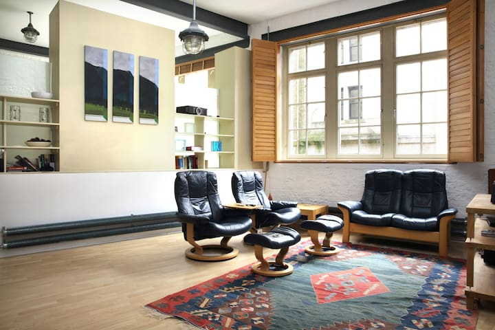 Spectacular open plan loft space - Edimburgo - Loft