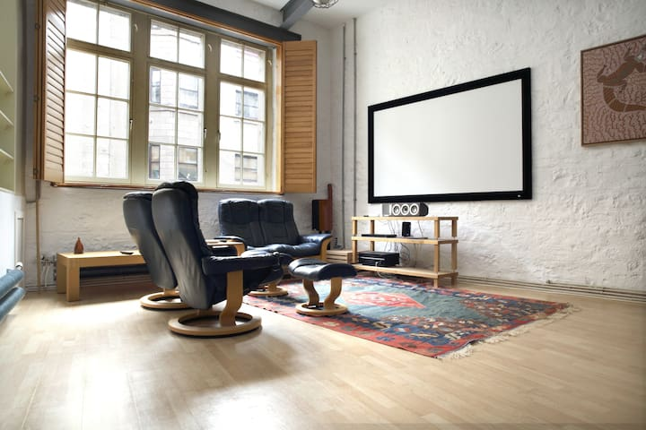 Living room av system