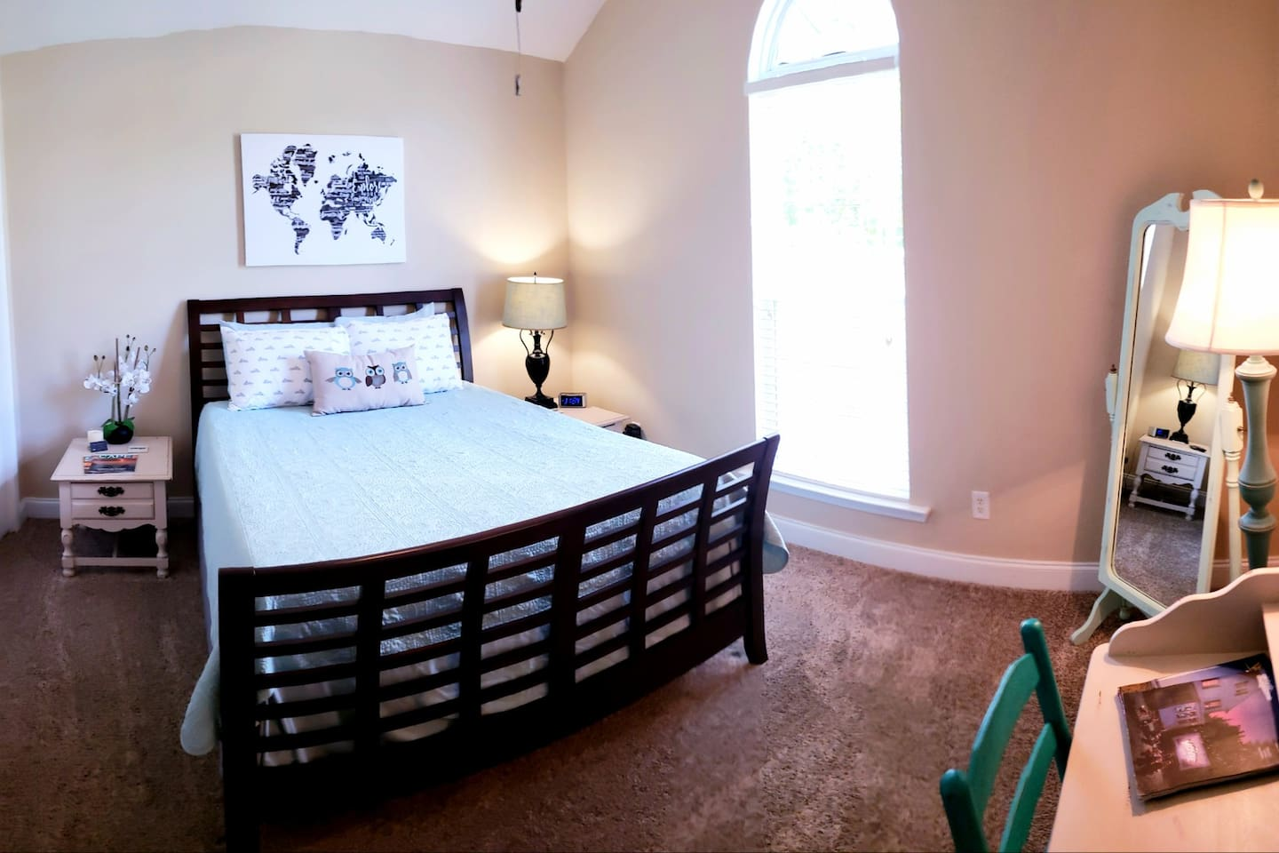 Panorama view of your beautiful suite