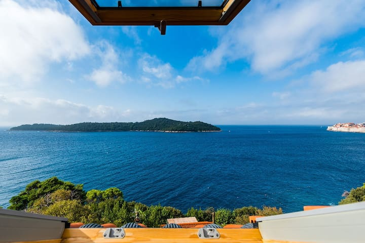 Serene Mansion in Dubrovnik with Private Terrace