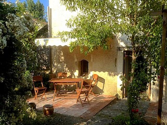 Charmante maison avec piscine - Saint-Méard-de-Drône - Casa