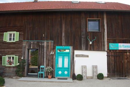 Loft am Land Design-Ferienwohnung - Dorfbeuern - Vindsvåning