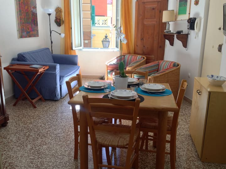 Camogli LOVELY NEST, QUIET,1 FLOOR,OLD TOWN