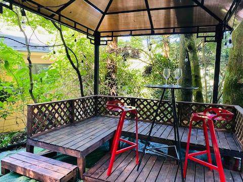 Ormandaki tam özel günlük ev➕ Barbekü ücretsiz, wifi, Hakone'de gezilecek yerler ve partiler için harika, 1,5 günlük plan mevcut