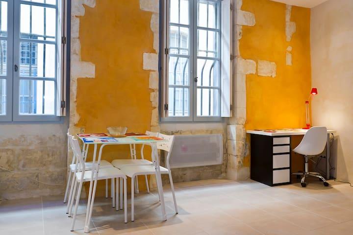 studio intramuros immeuble classé