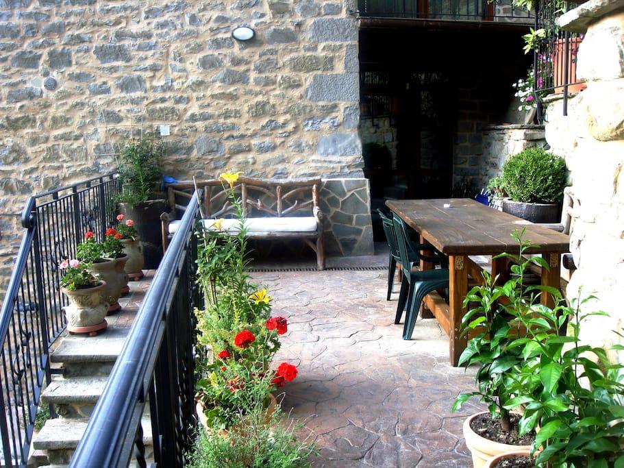 Il primo terrazzo