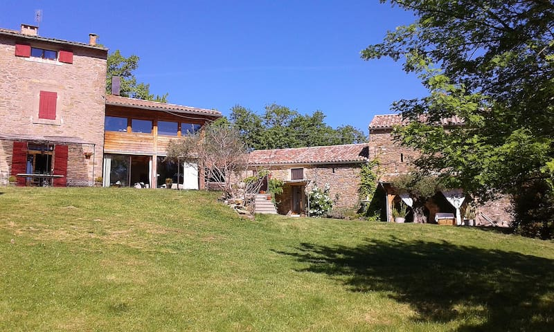 Holiday cottage(Shelter) 4 pers in  - Saint-Brès - Leilighet