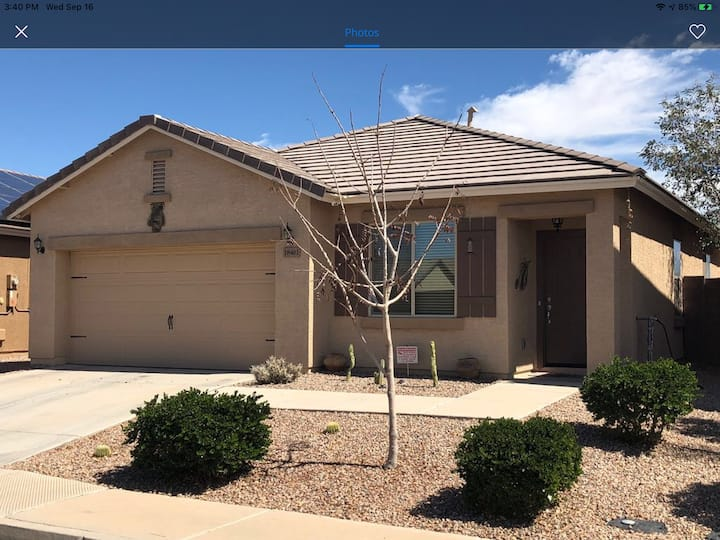 Lovely Home -Maricopa-near Phx, Chandler SunLakes.