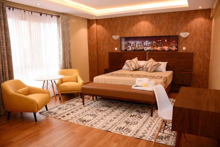 Achara City Penthouse in Westlands(Privateroom)