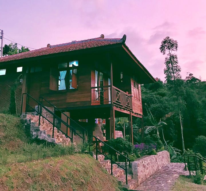 Villa Pangalengan Kia Ora Lodge - Villa Jasmine