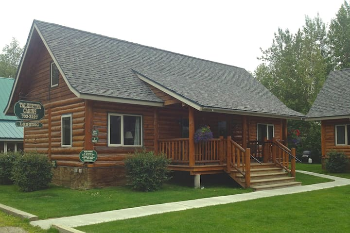 3 bedroom log home - Talkeetna - Haus