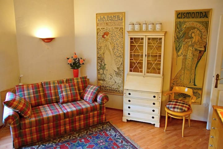 Charming Flat in Art Nouveau Style - Praga - Apto. en complejo residencial