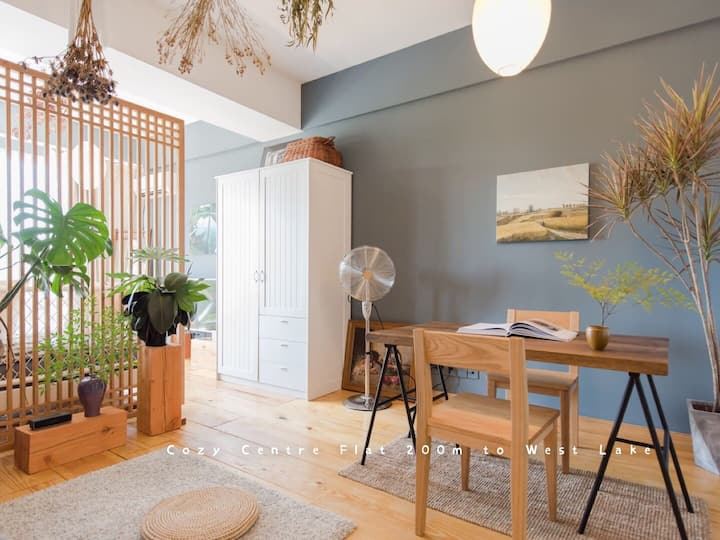 IN-MAISON 1 / Cosy Centre Flat 200m to West Lake