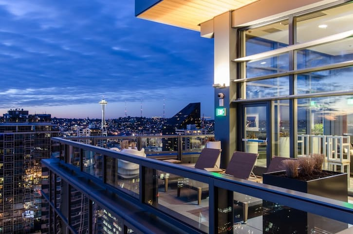 Space Needle Condo in heart of Downtown!! - Seattle - Apto. en complejo residencial