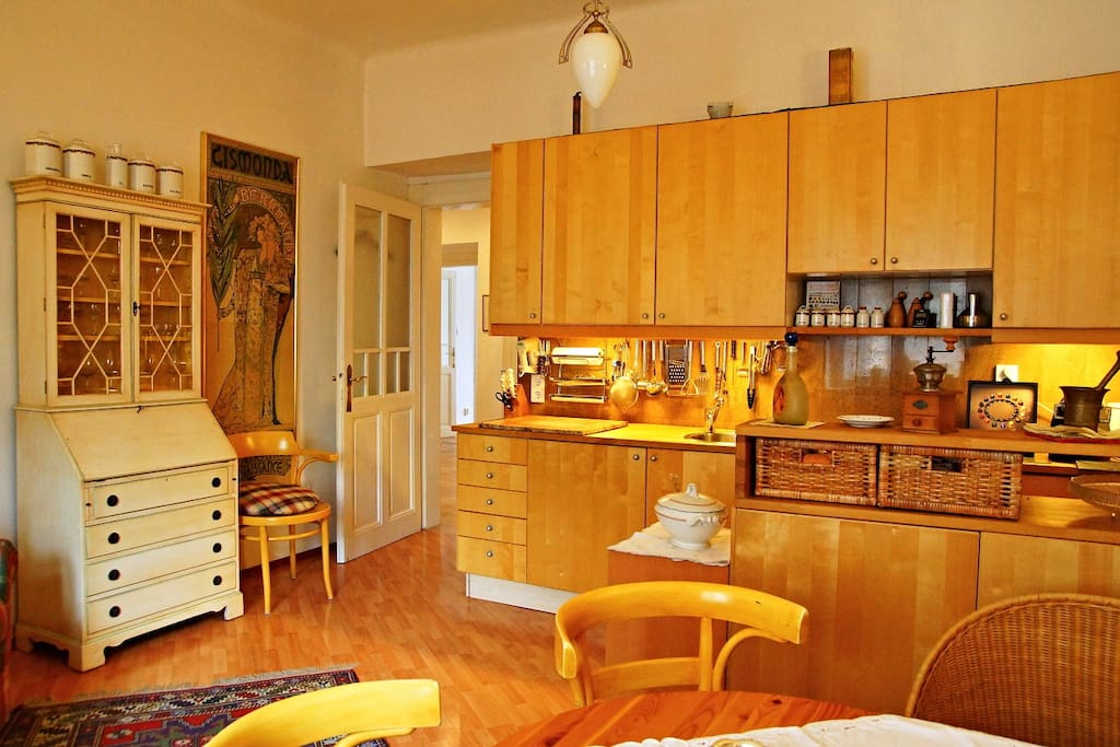 23 sqm Kitchen is equipped with a washing machine and dish washer