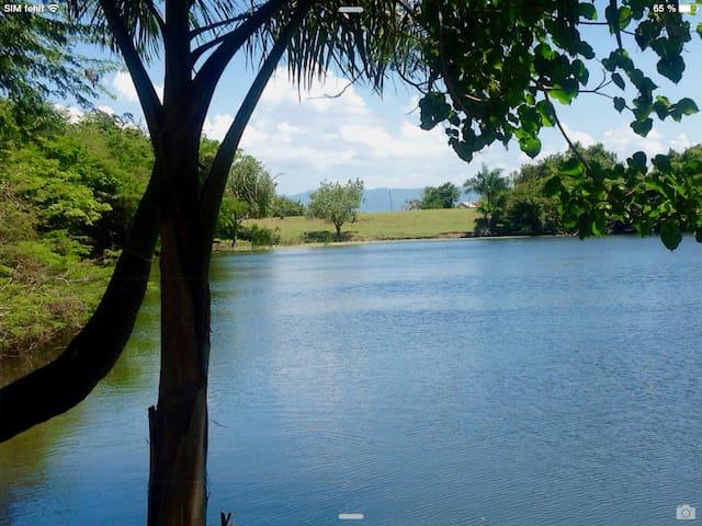 Kleiner See auf dem Campo, 15 Minuten mit dem Auto (Rüttelschüttelstrecke)