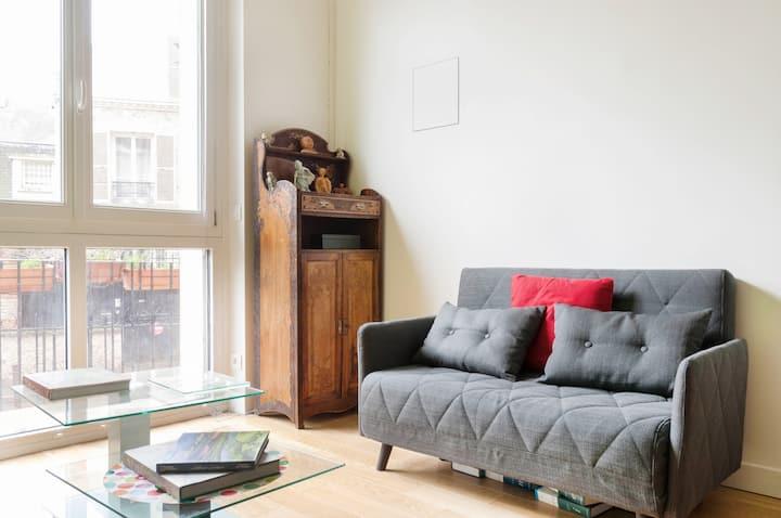 Joli loft de 24 m² - 15' du centre de Paris lnbw ²