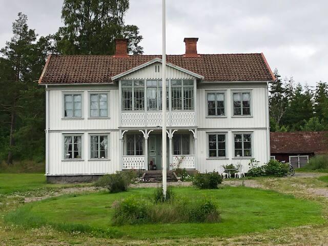 Lantlig lägenhet på gård nära Jönköping och Elmia