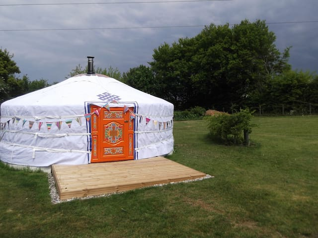 Gertie the Yurt