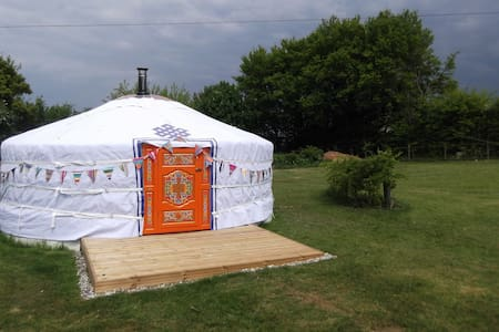 Gertie the Yurt