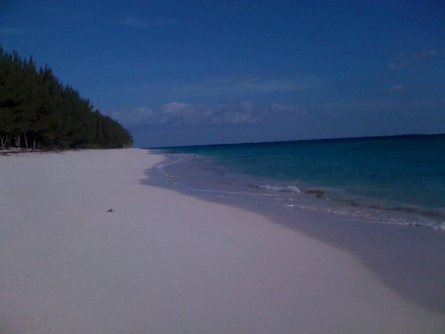 Your beach...
