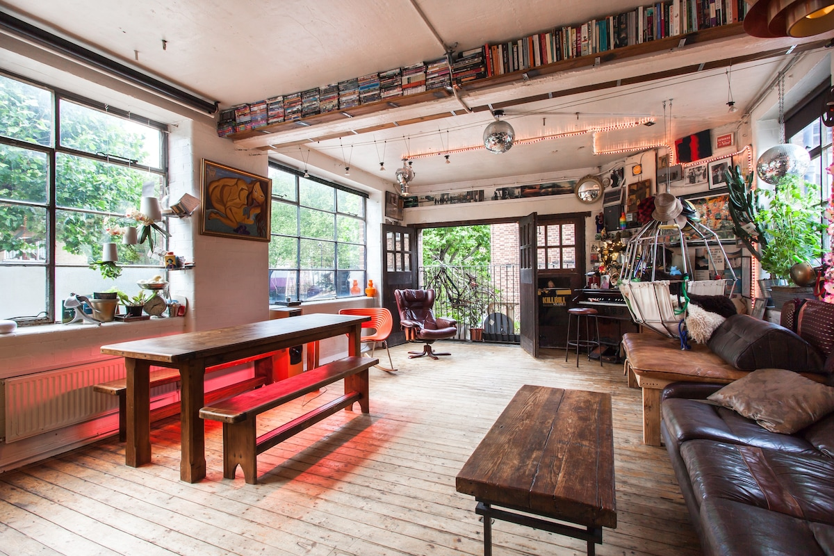 airbnb shoreditch hipster