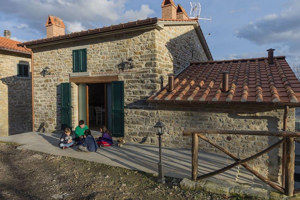 Agriturismo al monte daniele apartments for rent in bagno di romagna emilia romagna italy - Agriturismo mulino di culmolle bagno di romagna ...