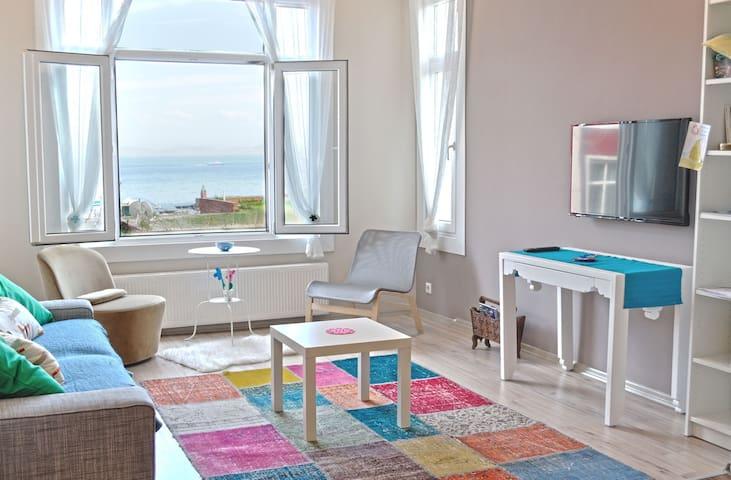 4BR Ensuite Sea View Apt. in Sultanahmet - Cankurtaran / Fatih / İstanbul - Appartement