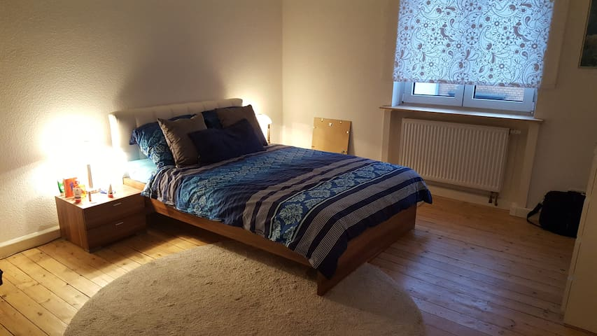 Bright spacy room - short ways to all the places - Mannheim - Byt