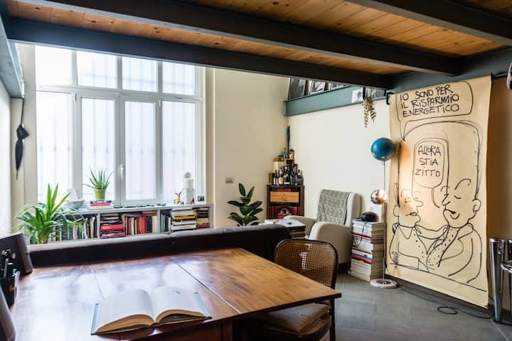 Cozy&bright loft