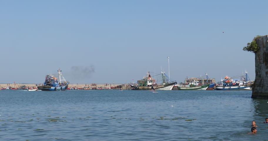 Riad complet avec superbe terrasse face à la mer - El Jadida