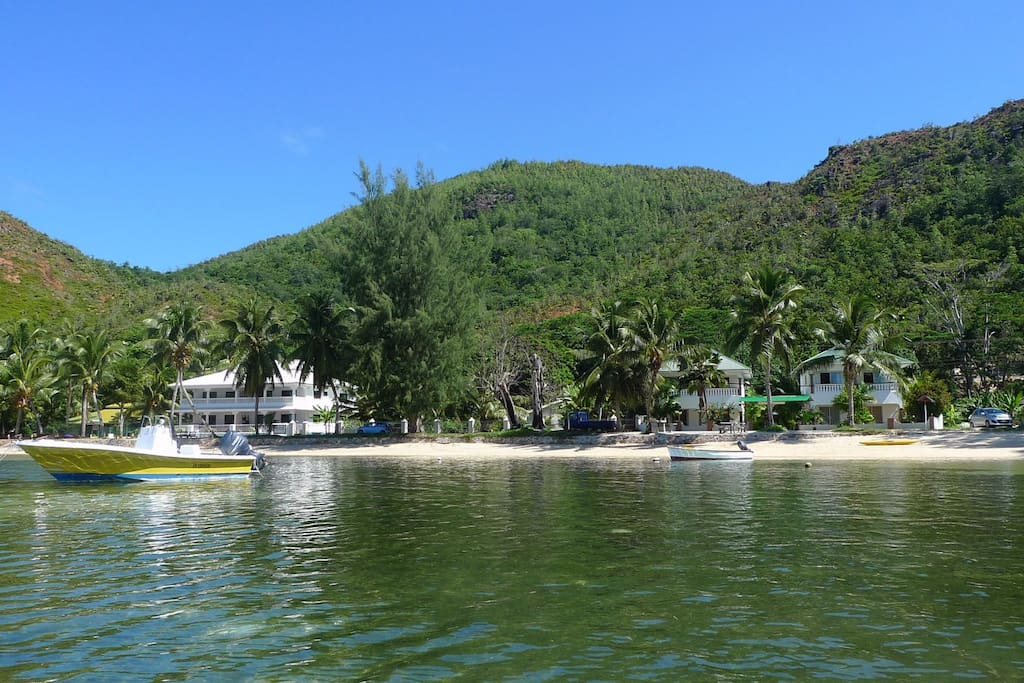 The bay of Anse Possession