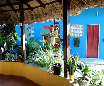 Double-room at La Casa Azul