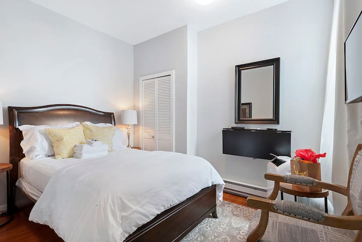 Recently Renovated Center City Suite