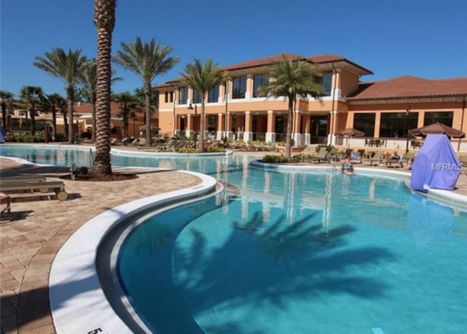 Beautiful 4br 4b Pool Slides Free Wifi Condominiums For Rent In Kissimmee Florida United States